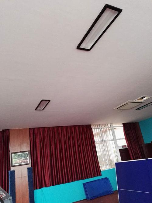 乒乓球场馆照明,乒乓球场地灯光设计,乒乓球专业化灯具