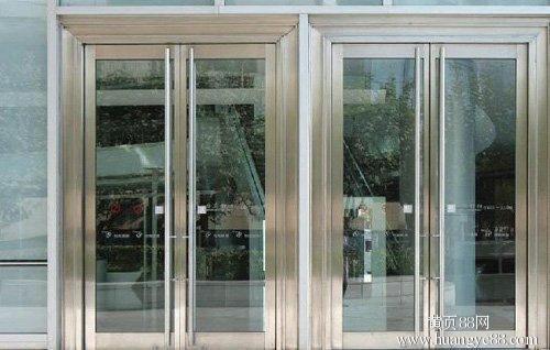 门面欧式玻璃门