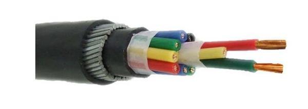 kvvp22铠装控制电缆结构图