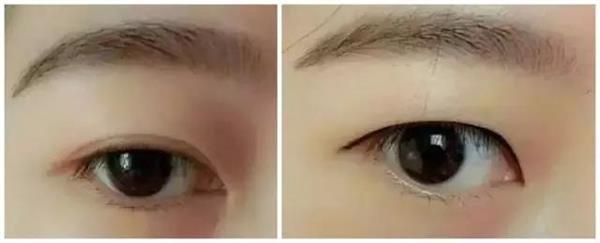 【大连艺星】内双女生画眼线---伤害太大了
