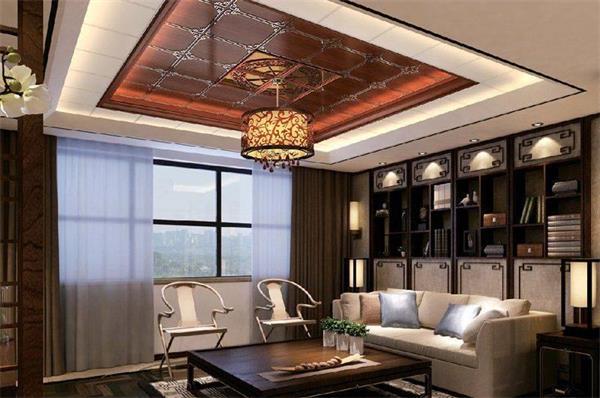 中式花格吊顶,客厅天花吊顶效果图,欧式吊顶,阳台吊顶,厨房吊顶,集成