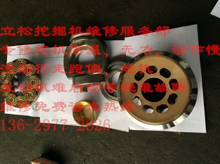 雅安神钢挖机分配阀官方维修图片