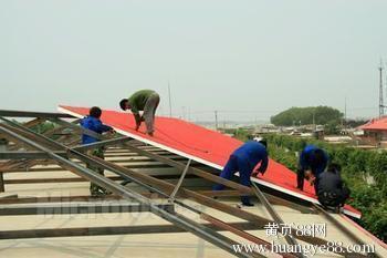 北京屋顶安装彩钢板 彩钢瓦封顶做屋脊68602002