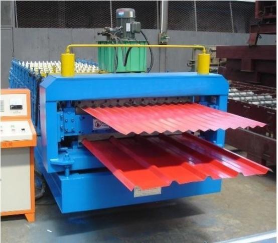 840-850双层彩钢瓦机