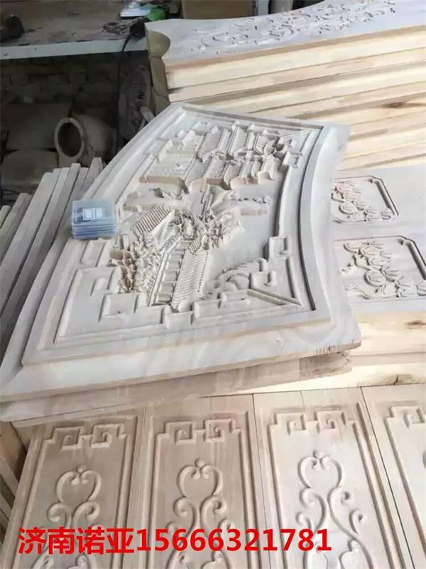 平面多头木板雕花机 沙发背板雕刻机诺亚直销