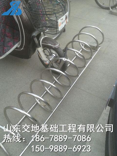 停放架 螺旋式自行车停车位架 价格优