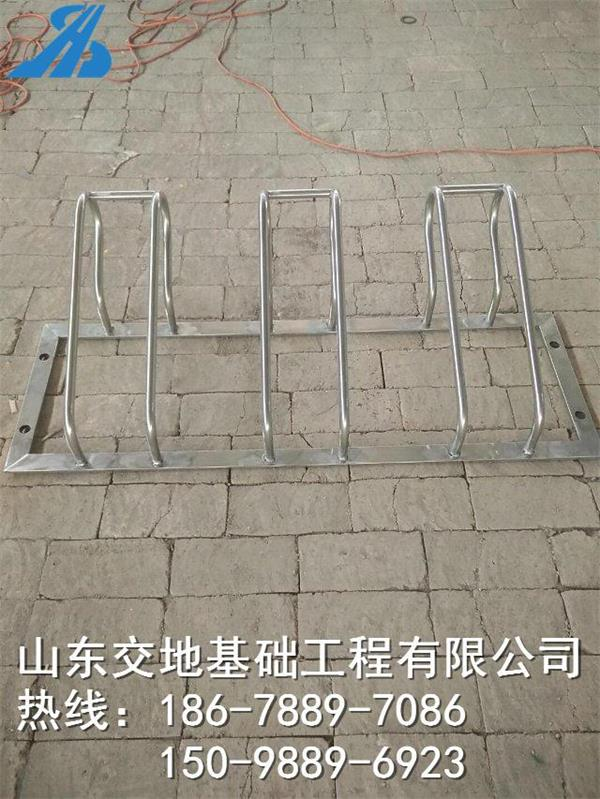 山东章丘脚踏车停车位 电动车停车架 螺旋式停车位 停放架