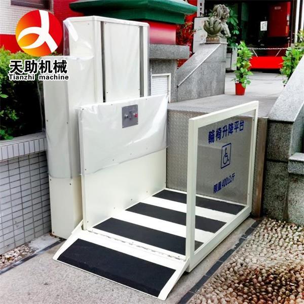 江门家用电梯 残疾人轮椅升降平台 家用小型升降机图片