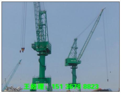 四川成都门座式起重机厂家伴随港口事业