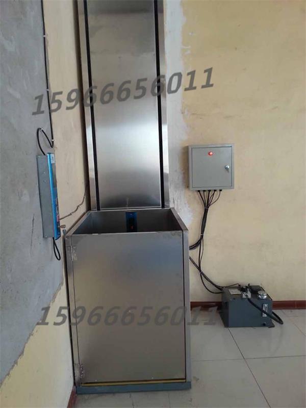 41  残疾人升降机,小型家用升降机是一种液压驱动电动控制的小型电梯图片