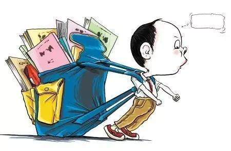 双肩背的 书包 相对来说比较科学,但如果太重,孩子身体前倾太厉害,脊柱