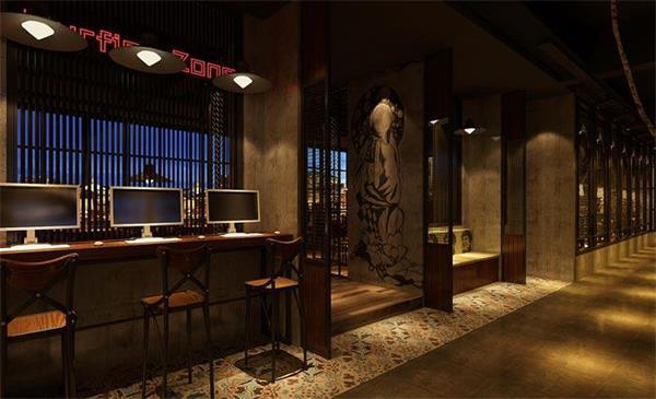 龙泉浪漫别致主题餐厅装修设计