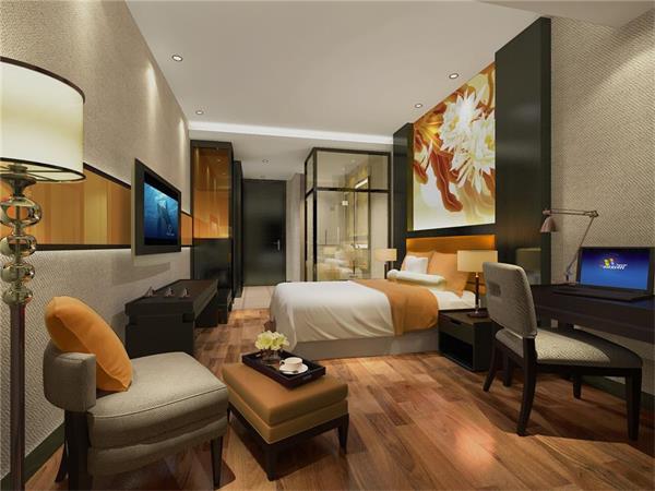 再者就是在酒店设计过程中要选择适宜的设计材料,室内设计材料应既能