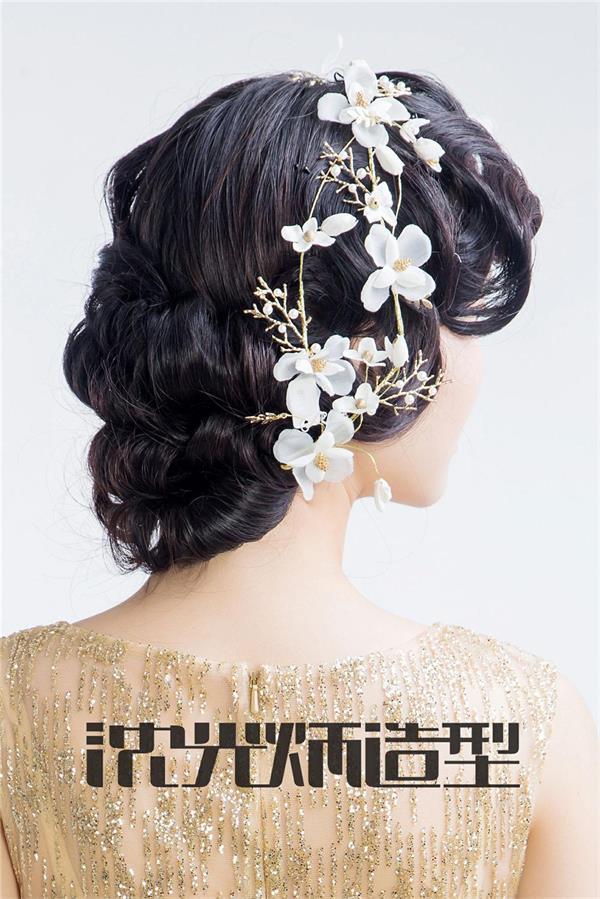 【沈光炳造型】2017唯美盘发扎发新娘发型