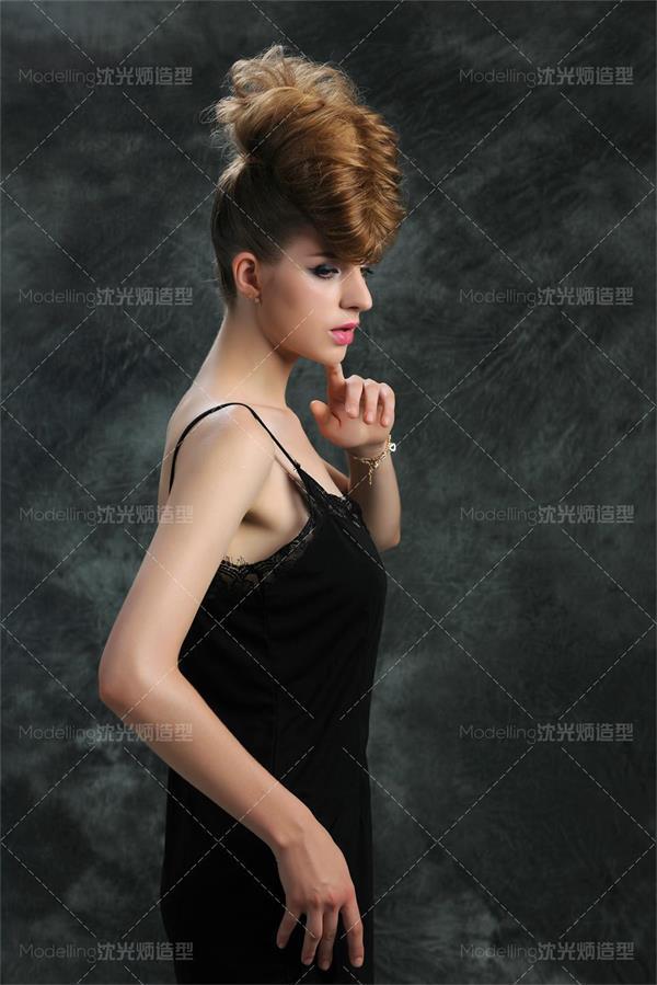 【沈光炳造型】欧式经典扎发编发盘发发型大全.化妆造型学校