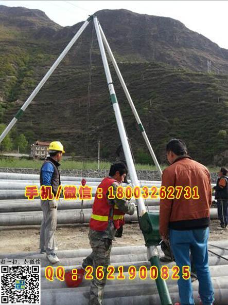 高压线路安装、抱杆组立铁塔