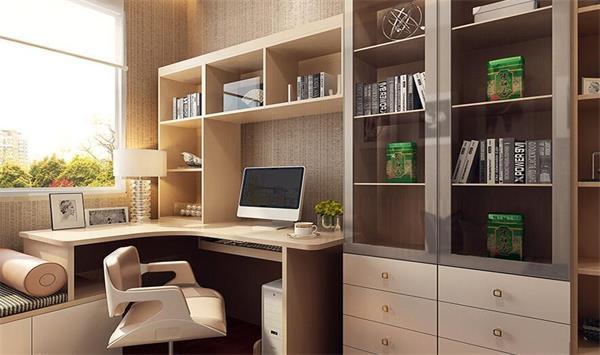 书桌 衣柜 榻榻米连体设计,集学习,收纳,玩耍,休息为一体的多功能房