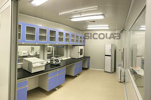 2016最新食品快速检测实验室装修效果图sicolab