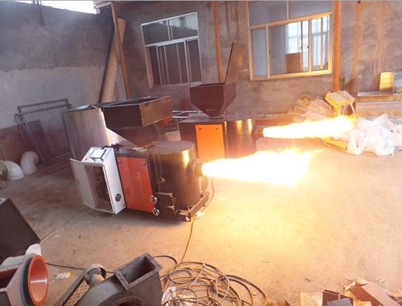 功能齐全生物质燃烧机 厂家报价环保颗粒燃烧炉