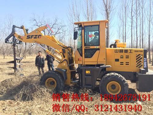 厂家直销 东方红拖拉机804钻桩机 雷沃拖拉机904钻桩机