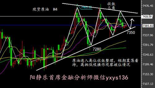阳静乐:2月28日现货原油价格或将有1000点的上涨空间