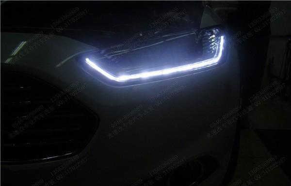 东营汽车大灯改装福特新蒙迪欧升级氙气大灯