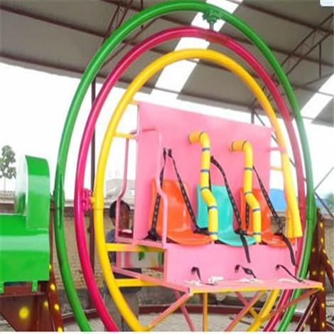 三维太空环儿童游乐设备 经典创作 郑州万达游乐设备乘坐舒畅