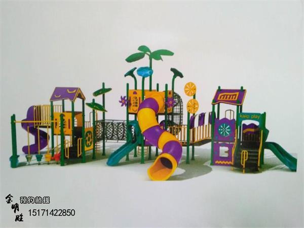 所以我们武汉金明胜要给孩子提供更好的服务,滑滑梯是所有幼儿园里