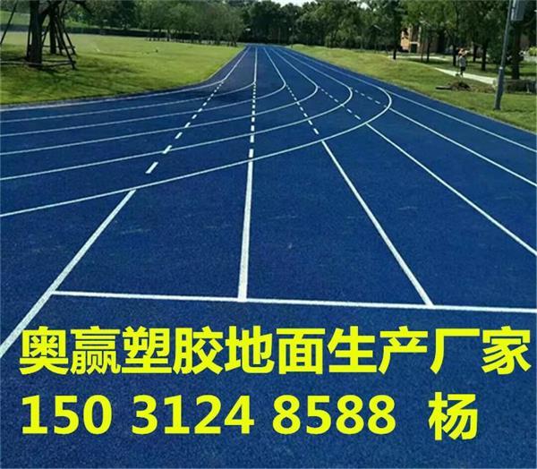 天津奥赢塑胶地面塑胶跑道厂家