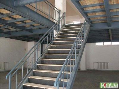 腾飞钢结构阁楼楼梯设计安装