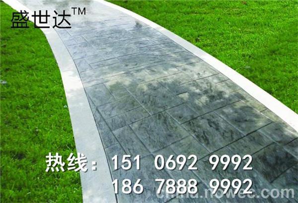 东营压印地坪 18678897086 广饶压膜地面施工价格图片