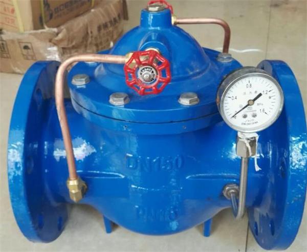 天津卓科爆款直销法兰碳钢100x遥控浮球阀 液压水位水力控制阀 水箱浮图片