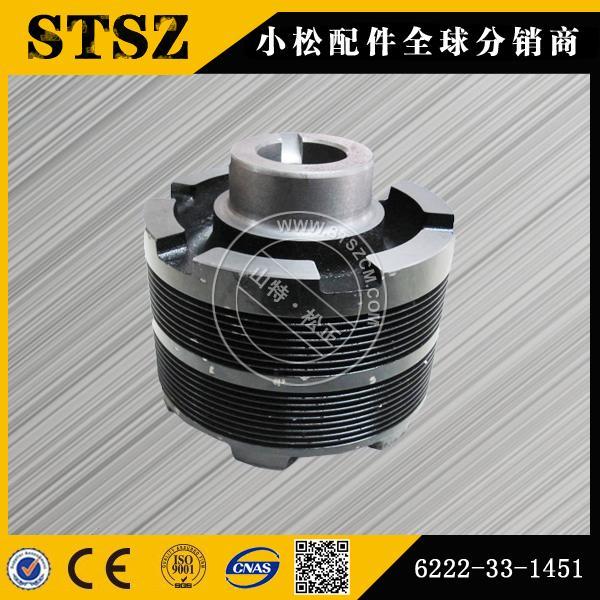 小松挖掘机pc240-7-8原装液压泵斜盘风扇皮带轮机油泵图片