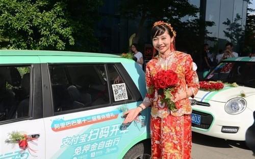 马云再放大招:新能源汽车免押金随便开!