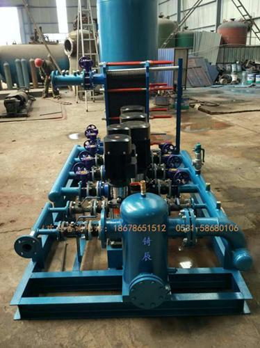 山东板式换热器机组开发生产销售供应新疆内蒙换热器机组板式换热器图片