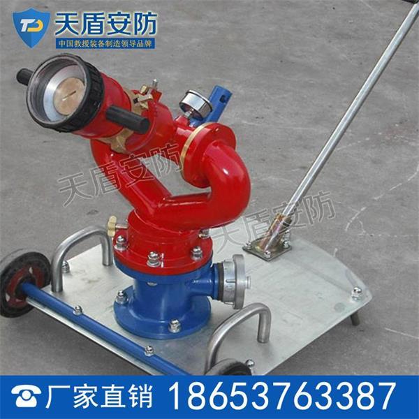 psy系列移动式消防水炮结构性能