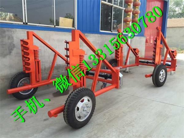 搬运车电缆线盘放线车 多功能电缆拖车 液压电缆拖车