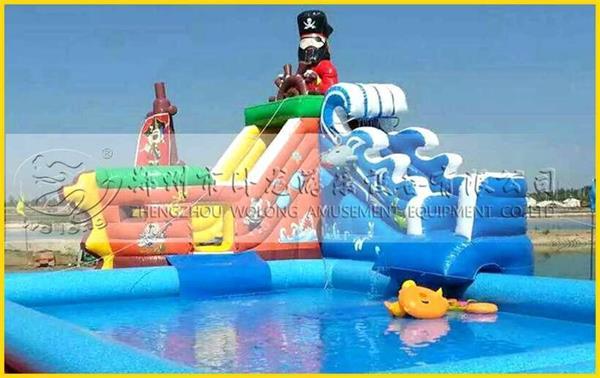 卧龙充气水上乐园帮您凉爽度夏