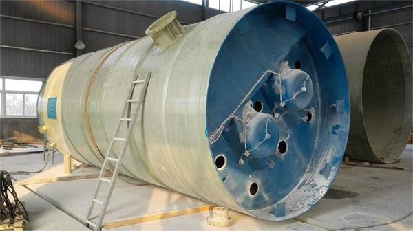 三明宁德一体化预制泵站直径3米高度6米