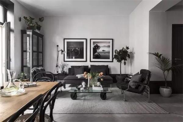 西安最美室内装修--北欧风格清凉家装