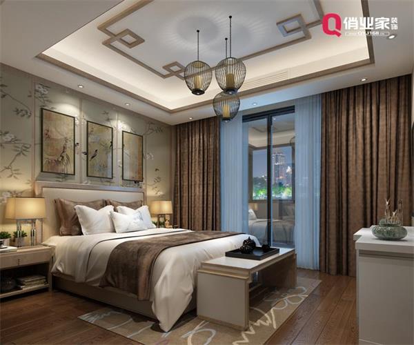 重庆南岸鲁能领秀城|335㎡别墅|新中式风格|设计效果图