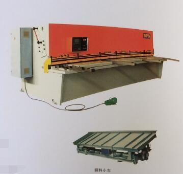 上海冲剪机床厂QC12K系列数控摆式剪板机