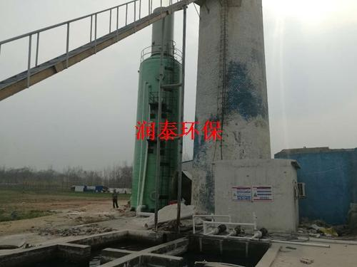 脱硫塔主要应用于热电厂的烟气脱硫脱硝环保系统-润泰