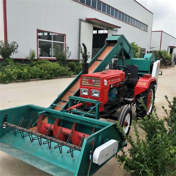 大型玉米脱粒机可以自动上料,省力省时,已经逐步得到了广泛的应用