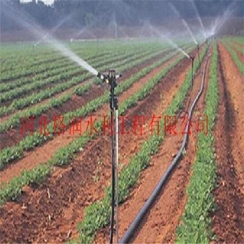 大田喷灌固定式喷灌工程廊坊大田灌溉喷头经久耐用图片