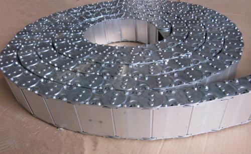 钢铝拖链生产商_工程拖链报价_钢制拖链