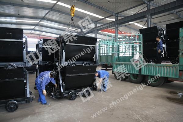 中煤集团国际贸易公司一批翻斗式矿车出口俄罗斯