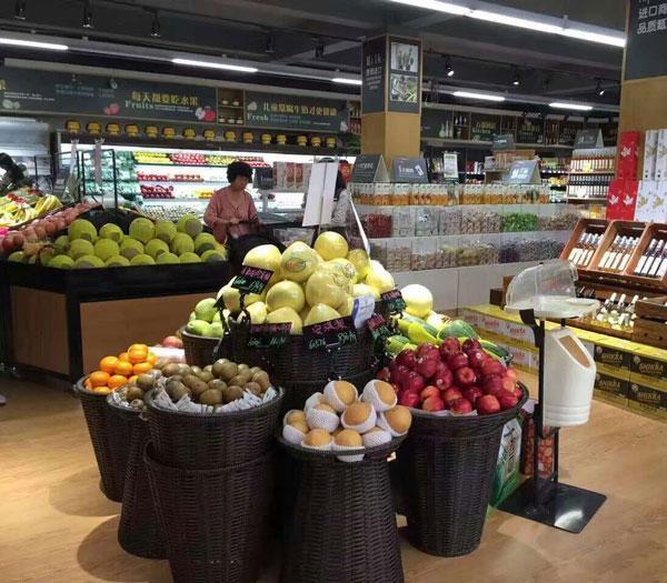 泸州超市果蔬促销架 泸州便利店蔬果展示架 泸州便利店生鲜促销架 泸州货架