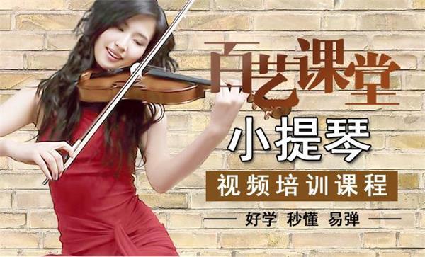 定安学小提琴