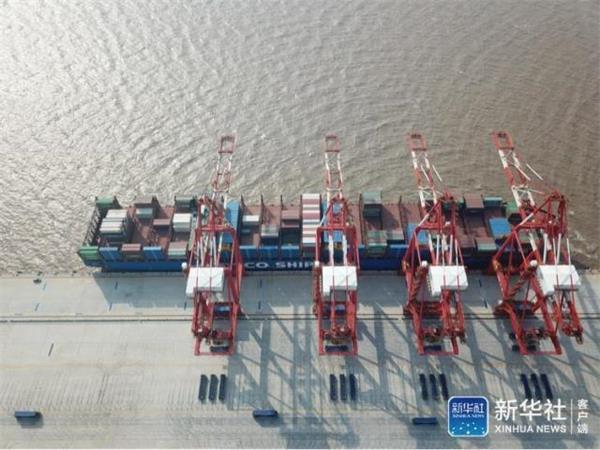 """中国又建成一个全球最大!上海智能码头如何做到""""空无一人""""?"""